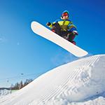 Leuchtkasten Snowboarding